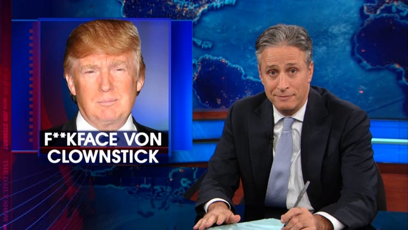 Donald Trump Lashes Out at Jon Stewart for Revealing His Birth Name