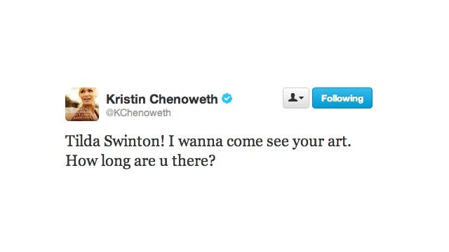 Kristin Chenoweth Vainly Shouts Into The Abyss