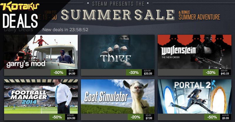 Steam Summer Sale Day 10 and the Best Deals for June 28, 2014