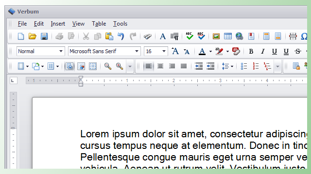 Verbum Is a Simple, Theme-Friendly Word Processor for Windows