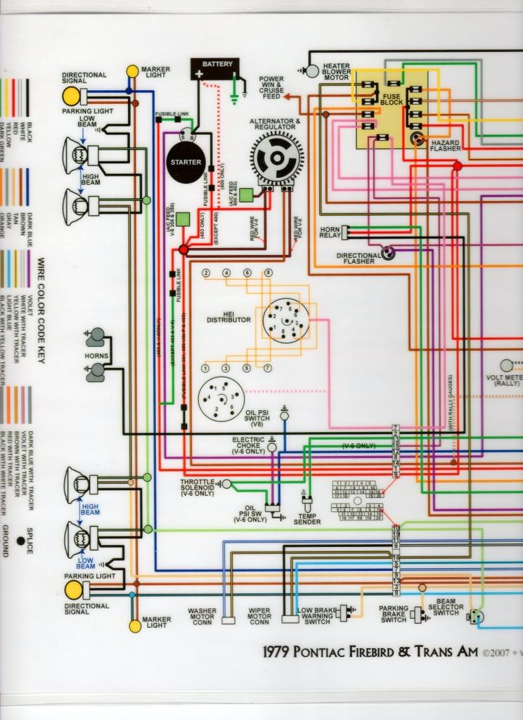 1978 trans am steering column wiring diagram
