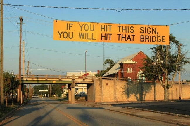 The Easy Way to Keep Trucks From Hitting Bridges
