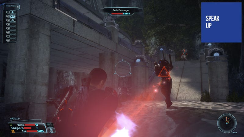 "Sweet Naiveté Triumphs Over ""Normal"" Mass Effect PC Controls"