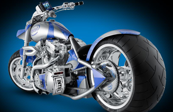 Intel and Orange County Choppers Create Satan's Motorcycle