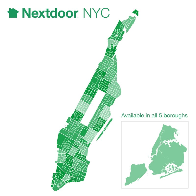 How Nextdoor and NYC Will Pioneer Socially Networked Crime Fighting