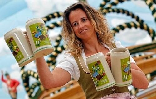 Beer Frau Readies The World For Oktoberfest