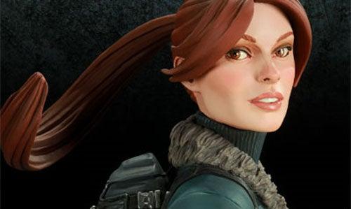 Even Lara Croft Deserves A Snow Day