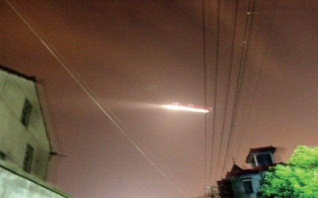 Blazing UFO Causes Chinese Airport Closure