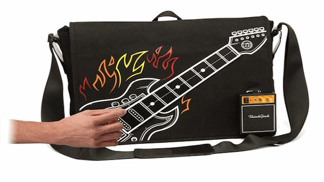 Playable Guitar Bag Provides On Demand Party Time Excellence