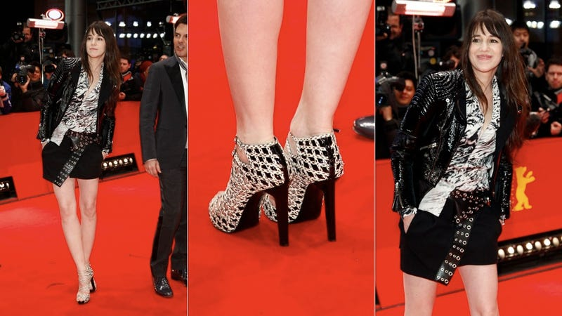 Charlotte Gainsbourg's Shoes Are Punky, Funky