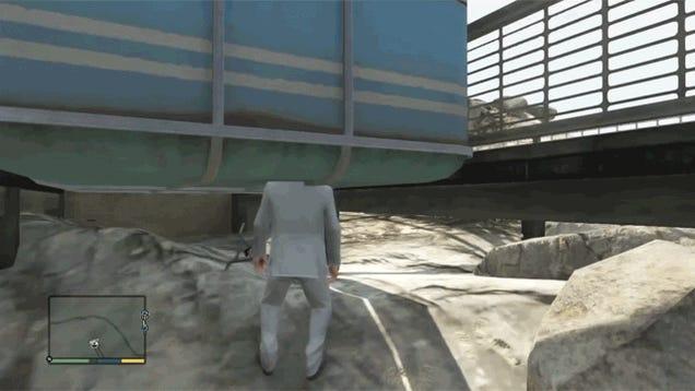 The Funniest GTA V And GTA Online Glitch GIFs