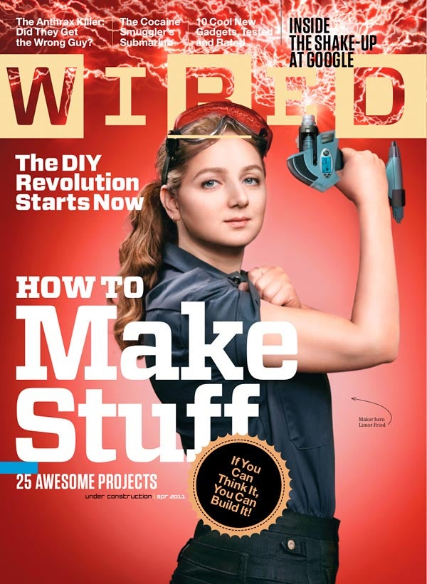 Why the Internet Freaked Out About the Lady Nerd on This Month's Wired Cover