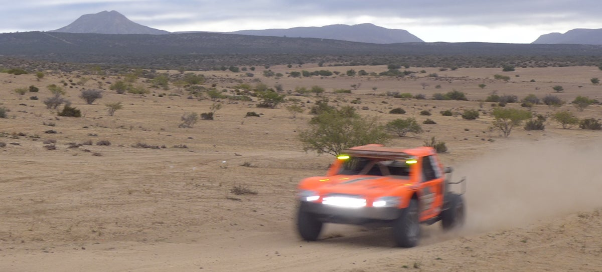 2014 Baja 500 Route Features Beaches, Lake Beds, Mountainous Terrain
