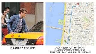 Public NYC Taxicab Database Lets You See How Celebrities Tip