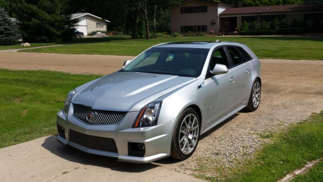 "Nationwide Manual CTS-V Wagon search reveals ""Bob's Jalopnik Special""."