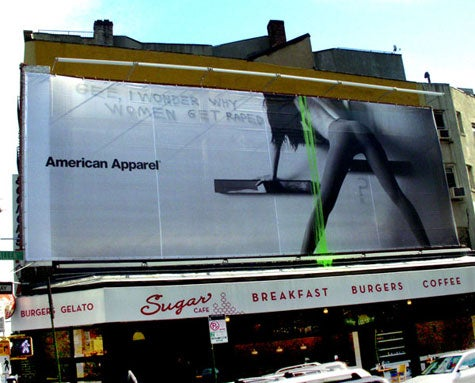 American Apparel Ads: Sexy Or Sexist?