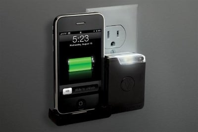 Scosche reviveLITE is an iPhone Charger and a Night Light