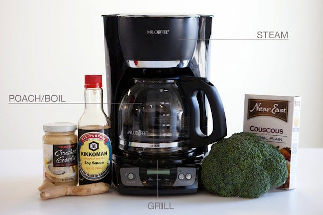 You can use your cheapo coffee machine to cook after the apocalypse