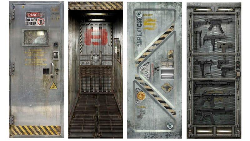 Convierte tus puertas en el escenario de un videojuego