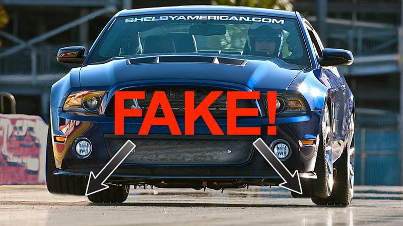 The Shelby 1000 Press Photos Are Fake