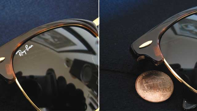 Remove Logos from Glasses with a Penny