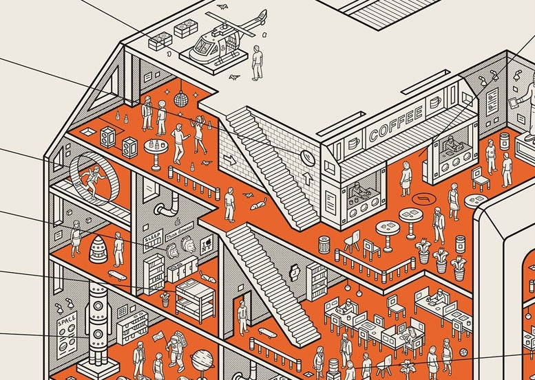 Can You Spot All the Apple Gags in This Poster of a 1984 Macintosh?