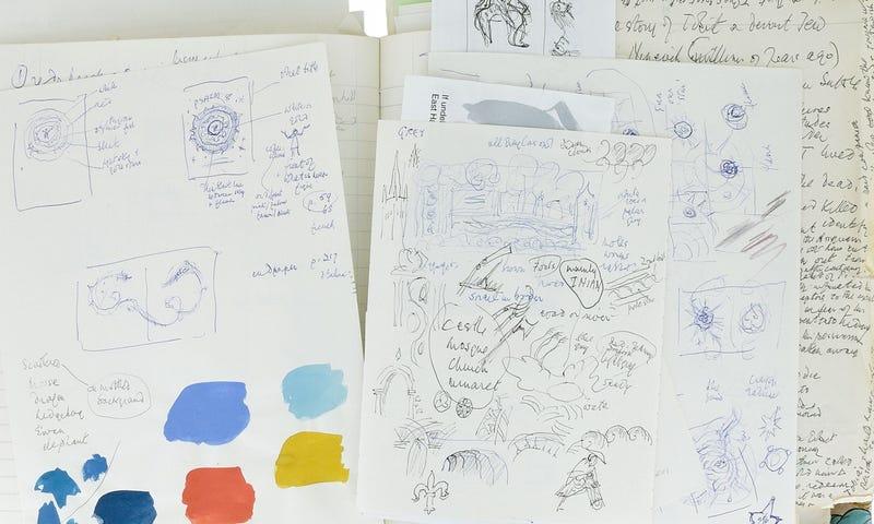 Descubren unas anotaciones de JRR Tolkien con los lugares que inspiraron la Tierra Media