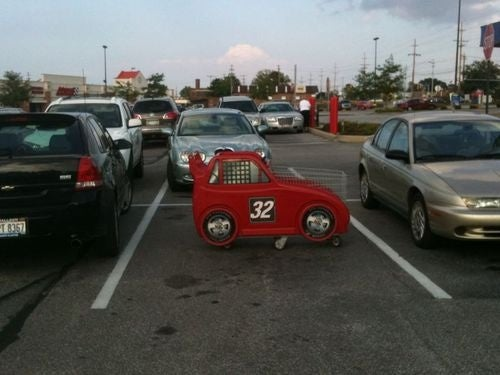 This Is Why People Think Shopping Cart Drivers Are Asshats