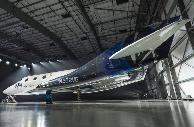 Here Is Your First Look at Virgin Galactic's New SpaceShipTwo, a Space Tourism Plane