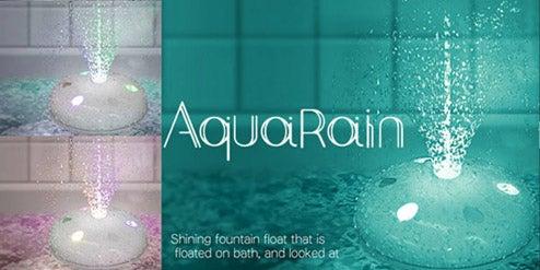 AquaRain Bath Fountain Puts on a Show Using Your Bathwater
