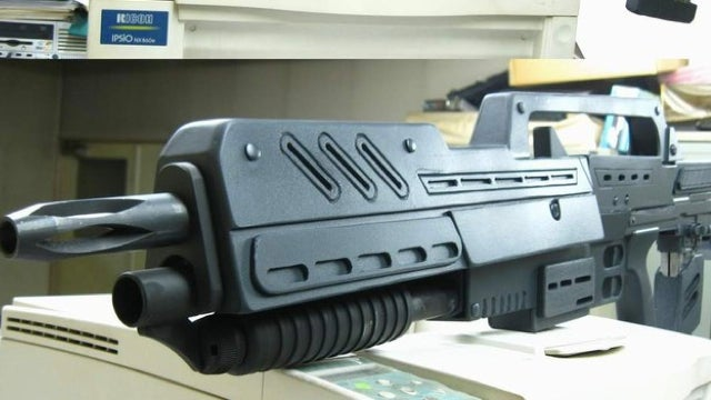 Just Imagine the Bugs You Can Shoot with This Starship Troopers Gun