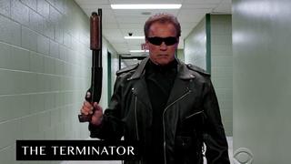 Schwarzenegger reinterpreta sus papeles clásicos en 6 épicos minutos
