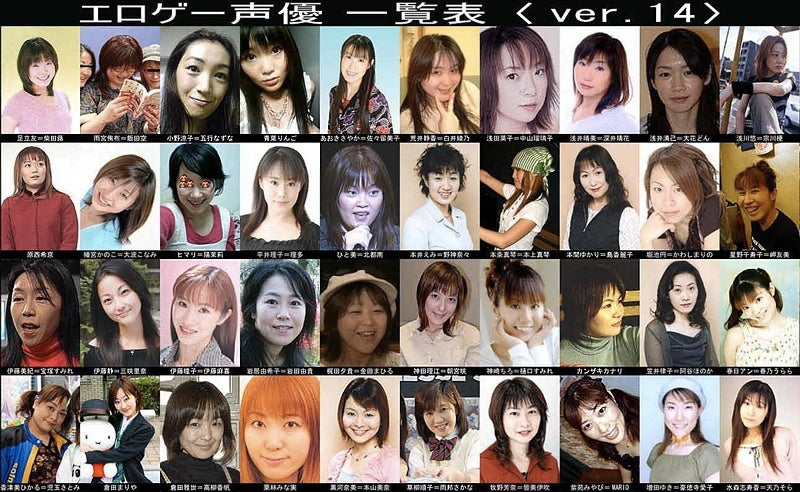 What Japanese Erotic Game Voice Actresses Look Like, Part 2