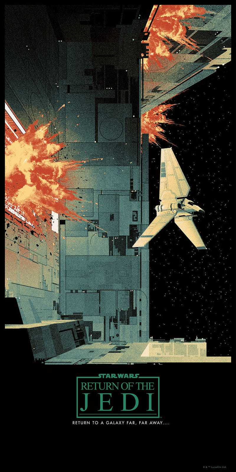 these new star wars posters are simply perfect. Black Bedroom Furniture Sets. Home Design Ideas