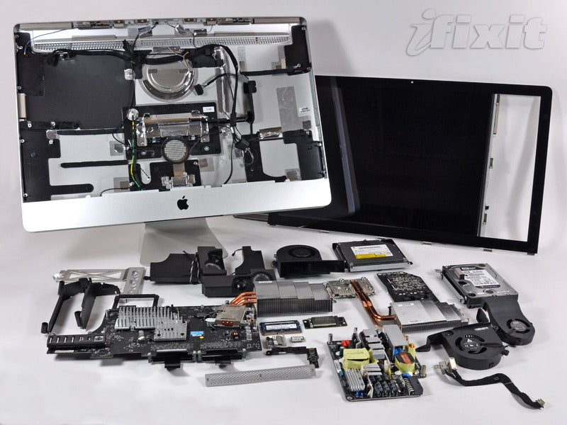 ifixit imac review gallery