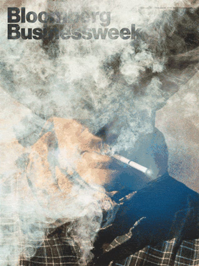 Bloomberg Businessweek's New E-Cig Cover Also Comes in GIF Form