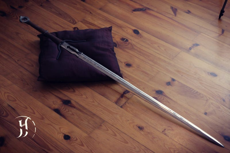 Ciri s witcher 3 sword forged in the real world
