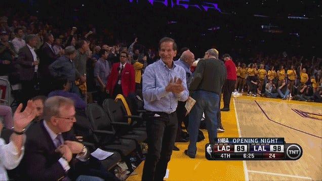 Incredibly Creepy Lakers Fan