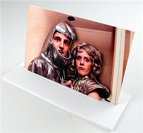 DIY photo pop-outs