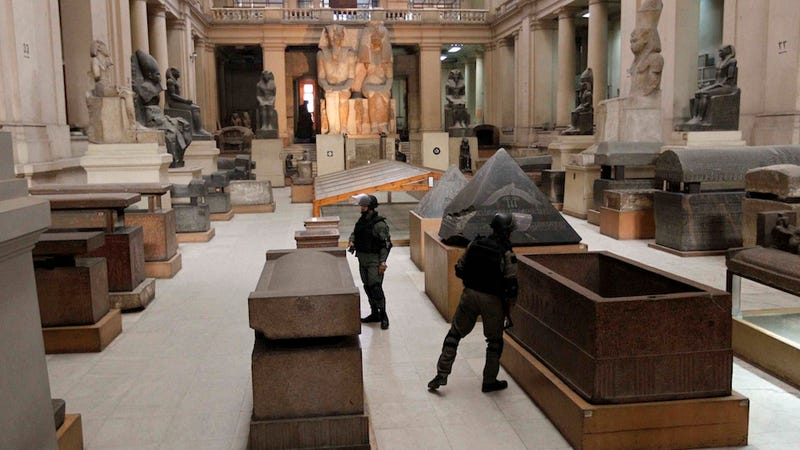 Stolen Egyptian Artifacts 'Left in the Street'