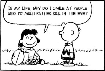 Combining Peanuts Strips with The Smiths Lyrics Works Like a Charm