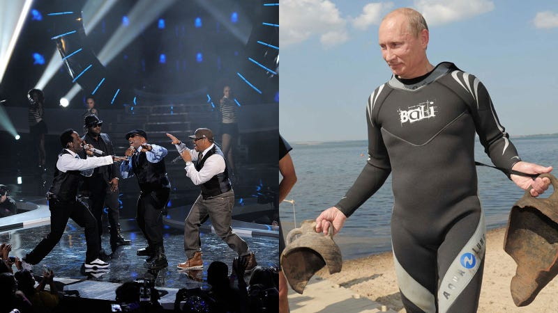 Vladmir Putin Hired Boyz II Men to Sing Until Russians Make More Babies