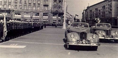 For Sale: Stalin's ZIS 110 Parade Car From 1949