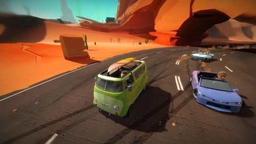 XBLA Getting Free, DLC-Supported Racing Game