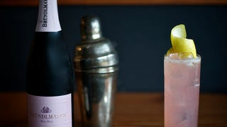 Bowie Knife: A Pink Cocktail for All You Manly Men