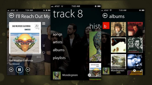 Track 8 Music Player Updates with iPhone and AirPlay Support