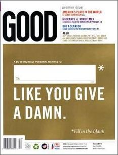 How Much Would You Pay For Good Magazine?