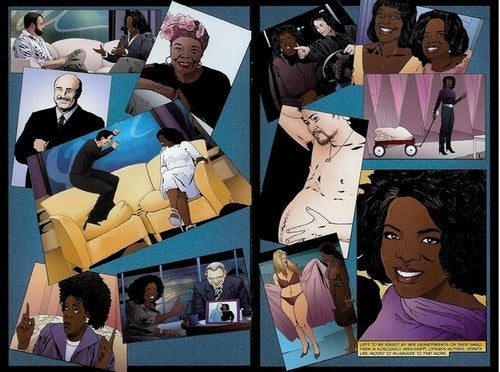 Female Force: The Poorly Illustrated, Incomplete Adventures Of Oprah Winfrey