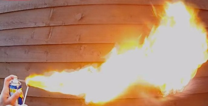 Another House Catches Fire in Attempt to Kill Spider With Flamethrower