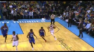 Russell Westbrook Is Back To Soaring Past Hapless Defenders To Dunk